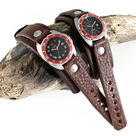 "【OUTLET】Challenger Red Bezel ""旧 1-1/2inch 20mm"" Walnut"