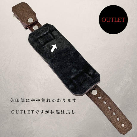 """【OUTLET】Classic """"旧 MS+MB 20mm"""" Chocolate【時計込】"""