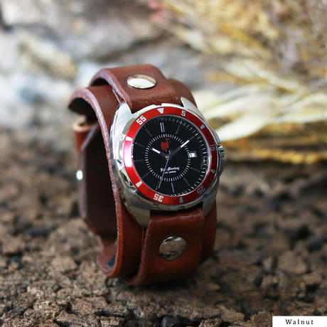 "Challenger Linear (Red Bezel) ""ORIGINAL 20mm"""