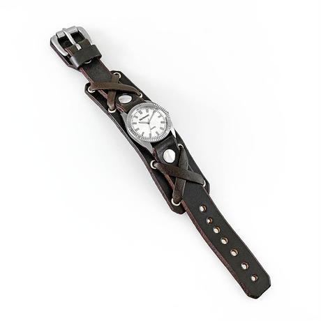 """Classic Silver """"X-strap 20mm"""""""