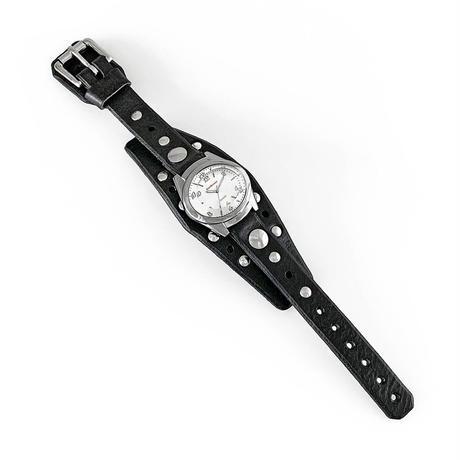 "Jetson Silver ""BARRACUDA 18mm"" Black"