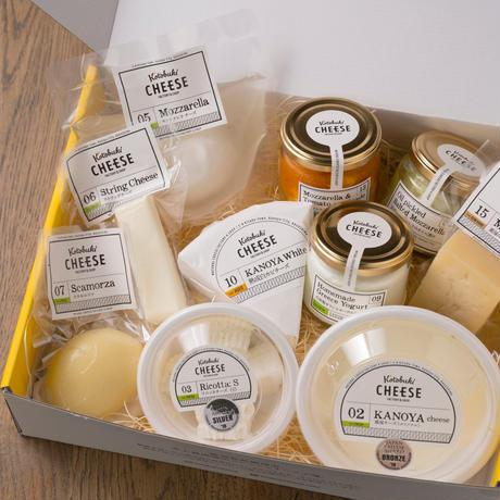 kotobuki cheese Set-L ナチュラルチーズ9種&ギリシャヨーグルト