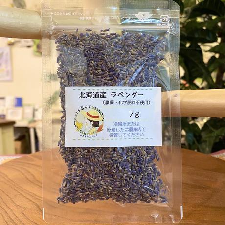 北海道産 ラベンダー(農薬不使用)  7g