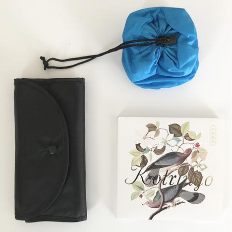 蝶々ガールのお買い物エコバッグ