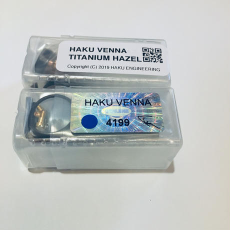 HAKU VENNA TI COATED (BLUE、HAZEL)