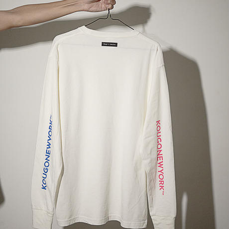 LONG SLEEVE TEE WHT