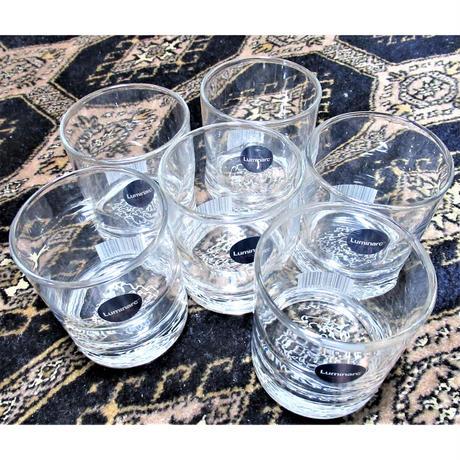 いろは・ひふみ曼荼羅グラス Mサイズ  6個 家庭使い(化粧箱は付きません)