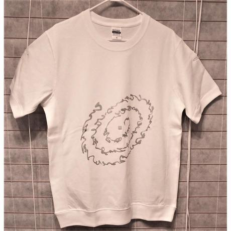 """Tシャツ """"いろは・ひふみ曼荼羅""""  女性用(フリーサイズ)※発送は7月13日以降です"""