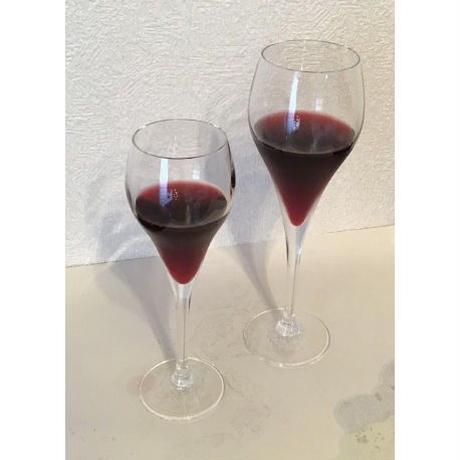 いろは・ひふみ曼荼羅ワイングラスS2個(最大径:56㎜ 口径:45㎜×高さ:171㎜ 容量:95㏄、化粧箱入り、20セットのみ)