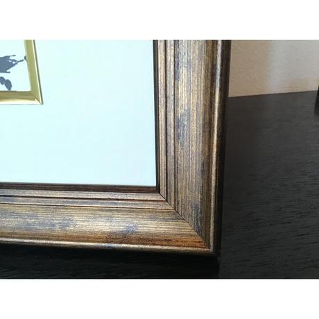 飛翔書作品展 初回:「宇宙波動」直筆(書画)(作品:横168㎜×縦106㎜、額:横345㎜×縦260㎜×奥行20㎜)
