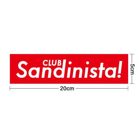 ステッカー(20cm x 5cm)  / CLUB SANDINISTA!