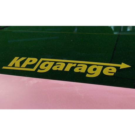 KP garage オリジナルステッカー
