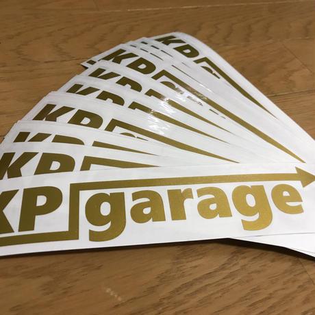 KP garage オリジナルステッカー[小]