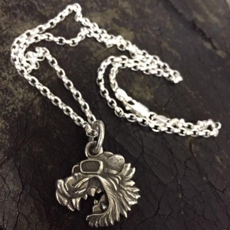 KraftyTiger Silver Necklace