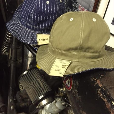 SPEIERS BRAND 30's RIVERSIBLE ARMY HAT