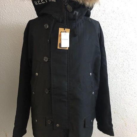 2018 UNCROWD N-3B COAT BLK