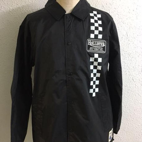 HMC 47z CHECKER COACH JKT BLK