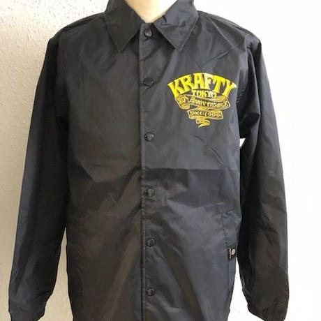 Magical Design Presents KraftyTokyo 20th Anniversary Coach Jkt BLK/YEL