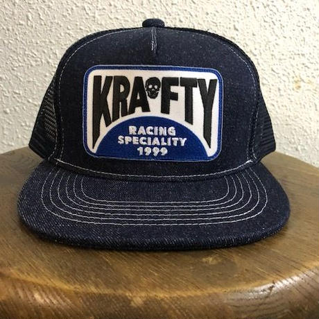 KRAFTY x BLUCO MESH CAP DENIM