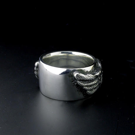 『HMC FLYING WHEEL RING』ALL SILVER
