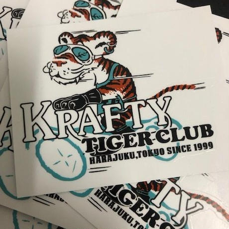 KRAFTY TIGER CLUB STICKER