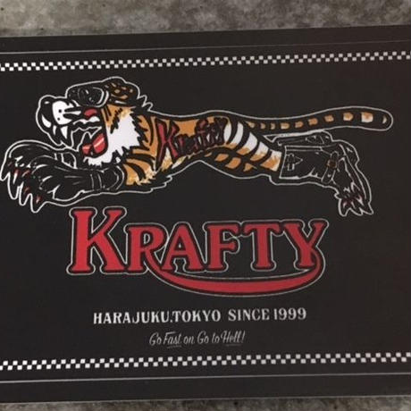 KraftyTiger Checker Sticker