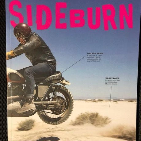 SIDEBURN Magazine #34