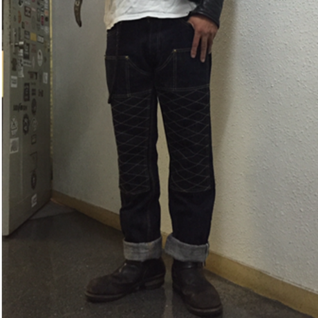 THE SPEEDWAY W-KNEE DENIM INDIGO DENIM 36インチ残り僅か!!