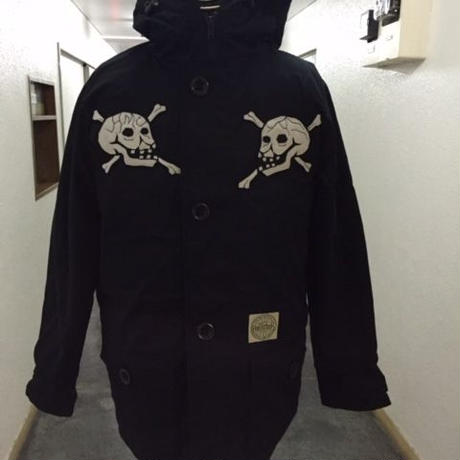 HMC 15th Anniversary Limited Skull Down Jkt🏁!! BLK
