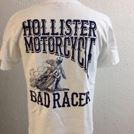 HMC BAD RACER-T WHT/NVY