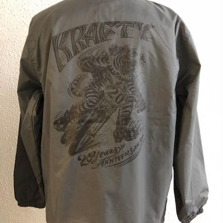 Magical Design Presents KraftyTokyo 20th Anniversary Coach Jkt GRY