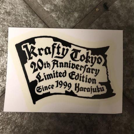 KraftyTokyo 20th Anniversary Limited Sticker