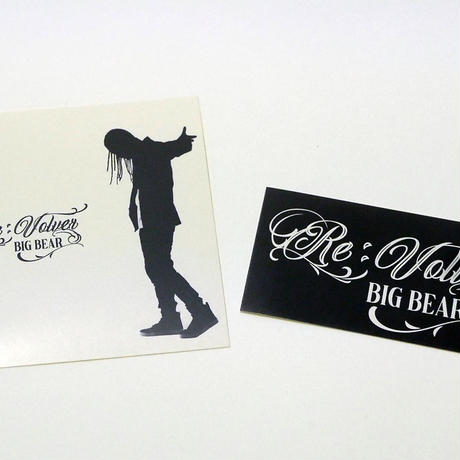Re:Volver T-SHIRTS【限定CD[BIG BEAR / Re:Volver]&ステッカー2種付き】
