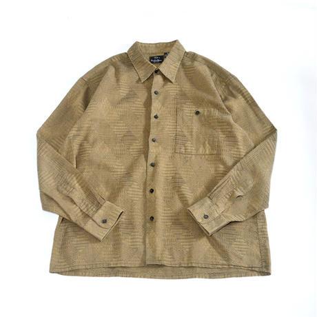 pattern cotton shirt