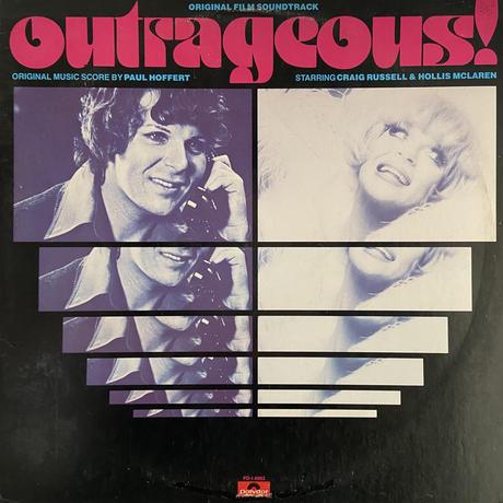 OST (Paul Hoffert ) / Outrageous!: Original Film Soundtrack (LP)