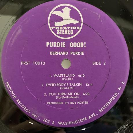 Bernard Purdie / Purdie Good! (LP)