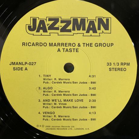 Ricardo Marrero & The Group / A Taste (LP)