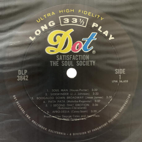 The Soul Society / Satisfaction From The Soul Society