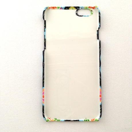 iPhone5/5S/5C/6/6S/6Plus/ ケース * カラフル フラワー