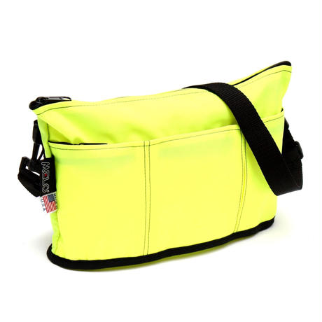 OVAL SHAPED BAG(Mサイズ)  YELLOW