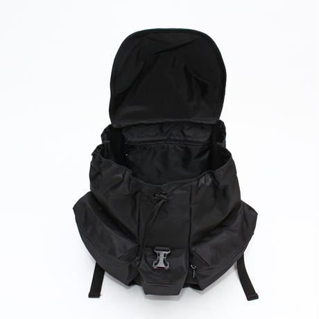 3POCKET BACK PACK(Mサイズ) BLACK