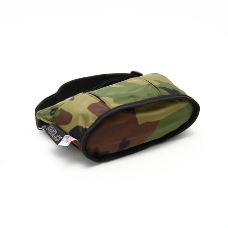 OVAL SHAPED BAG(Sサイズ) WOODLAND CAMO