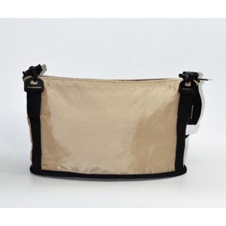 OVAL SHAPED BAG(Mサイズ)  SAND