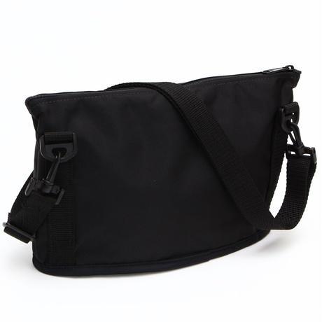 OVAL SHAPED BAG(Mサイズ) BLACK
