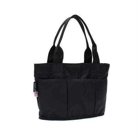 OVAL SHAPED TOTE BAG(Mサイズ) BLACK