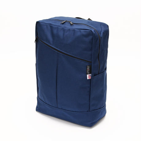 DIAGONAL ZIPPER BACKPACK1000D(Lサイズ) NAVY