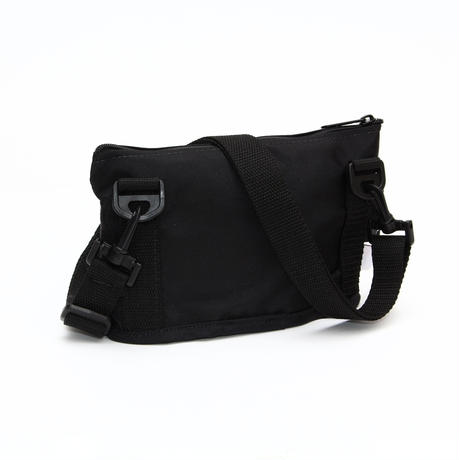 OVAL SHAPED BAG(Sサイズ) BLACK
