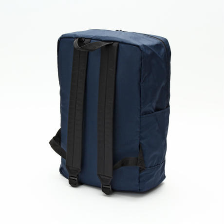 DIAGONAL ZIPPER BACKPACK(Lサイズ) NAVY