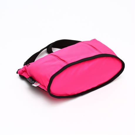 OVAL SHAPED BAG(Mサイズ)  HOTPINK