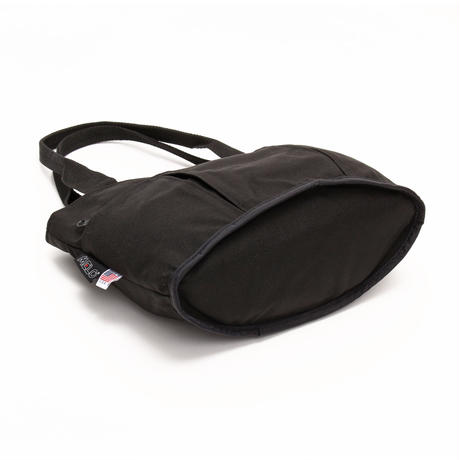 OVAL SHAPED TOTE BAG 1000D (Mサイズ) BLACK